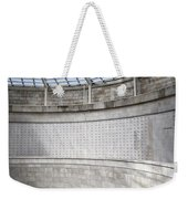 Abstract View Of The Central Tower Door With Skylight And Names  Weekender Tote Bag