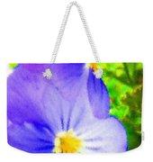 Abstract Violets Weekender Tote Bag