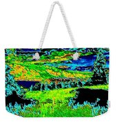 Abstract Vista Weekender Tote Bag