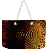 Abstract Water Effect Weekender Tote Bag