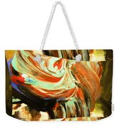 Abstract Whirls Within A Window Weekender Tote Bag