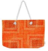 Abstract Window On Orange Wall Weekender Tote Bag
