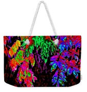 Abstract Wisteria Weekender Tote Bag
