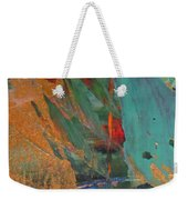 Abstract With Gold - Close Up 7 Weekender Tote Bag