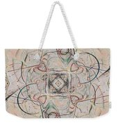 Abstract With Hearts Weekender Tote Bag
