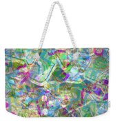 ract with Shapes and Squiggles Weekender Tote Bag