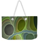 Abstract With Stars Weekender Tote Bag