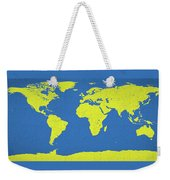 Abstract World Map 0317 Weekender Tote Bag