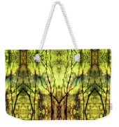 Abstract Yellow Trees Weekender Tote Bag