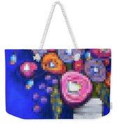 Abstracted Flowers - 2 Weekender Tote Bag
