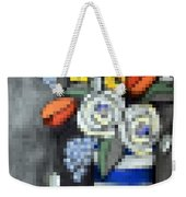 Abstracted Flowers - 3 Weekender Tote Bag