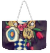 Abstracted Flowers- 5 Weekender Tote Bag
