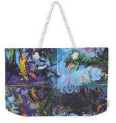 Abstracted Koi Pond Weekender Tote Bag