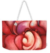 Abstracted Orchid Weekender Tote Bag