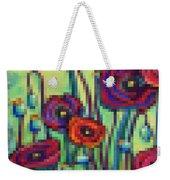 Abstracted Poppies Weekender Tote Bag