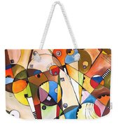 Abstraction 1768 Weekender Tote Bag