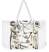 Abstraction 2043 Weekender Tote Bag