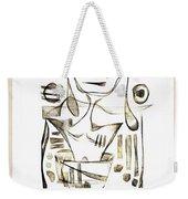 Abstraction 2044 Weekender Tote Bag