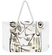 Abstraction 2045 Weekender Tote Bag