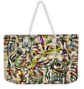 Abstraction 2049 Weekender Tote Bag