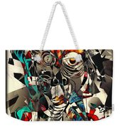 Abstraction 2501 Weekender Tote Bag