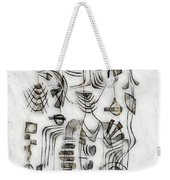 Abstraction 2573 Weekender Tote Bag