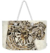 Abstraction 2798 Weekender Tote Bag