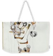 Abstraction 2990 Weekender Tote Bag