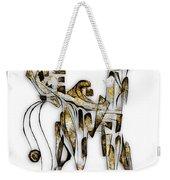 Abstraction 3093 Weekender Tote Bag