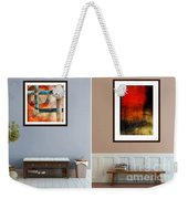 Abstracts By Edward M. Fielding Weekender Tote Bag