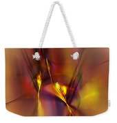Abstracts Gold And Red 060512 Weekender Tote Bag