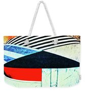 Abstracts On Red Weekender Tote Bag