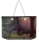 Abstracty Crows Feet Weekender Tote Bag