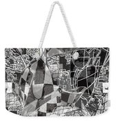 pERMEABLE aBSTRACTION  Weekender Tote Bag