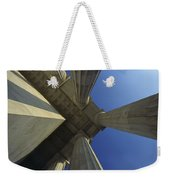 Abstrat View Of Columns At Lincoln Weekender Tote Bag
