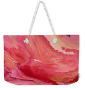 Abstrct In Pink  Weekender Tote Bag