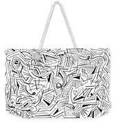 Abstruse Weekender Tote Bag