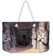 Abu Simbel Temple, 1838 Weekender Tote Bag