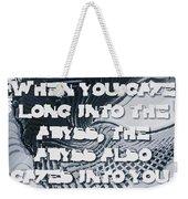 Abyss Weekender Tote Bag