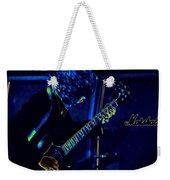 Ac Dc Electrifies The Blues Weekender Tote Bag