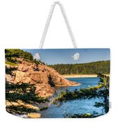 Acadia National Park Rocky Shoreline Weekender Tote Bag