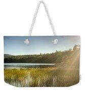 Acadia National Park Shoreline In Evening Sun Weekender Tote Bag