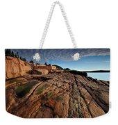 Acadia Rocks Weekender Tote Bag