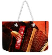 Accordeon Weekender Tote Bag