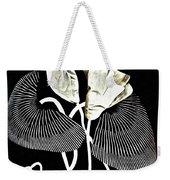 Accordion Leaf Flowers Weekender Tote Bag