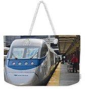 Acela Train 14bos072 Weekender Tote Bag