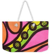 Aceo Abstract Design Weekender Tote Bag