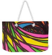 Aceo Abstract Spiral Weekender Tote Bag