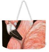 Aceo Flamingo Weekender Tote Bag