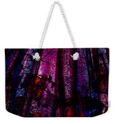 Acid Rain With Red Flowers Weekender Tote Bag